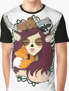 Forest Spirit Graphic T-Shirt