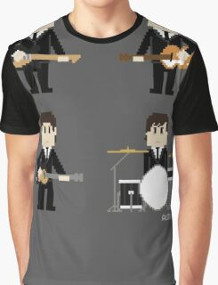 8-Bit Fab Four Graphic T-Shirt