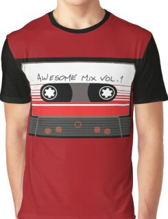 Awesome Mix Vol 1 Graphic T-Shirt