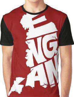England White Graphic T-Shirt