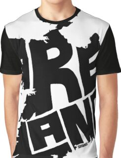 Ireland Black Graphic T-Shirt