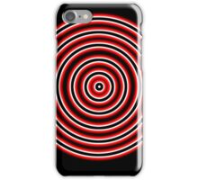 Glowing Bullseye iPhone Case/Skin