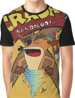 Old Timey Crash Bandicoot Graphic T-Shirt
