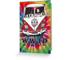 WWJD vw  Greeting Card