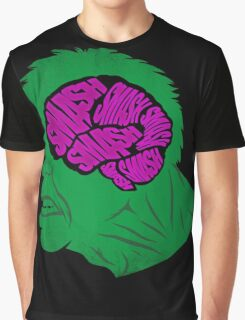 Brain Smash Graphic T-Shirt