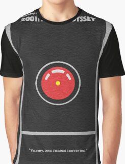 2001 A Space Odyssey Graphic T-Shirt