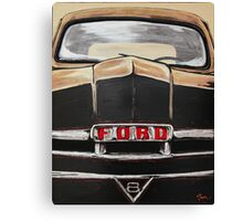 V8 FORD TRUCK Canvas Print