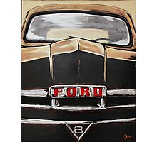 V8 FORD TRUCK Photographic Print