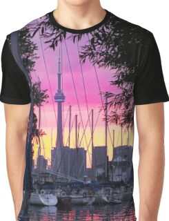 Toronto-CN Tower Graphic T-Shirt