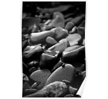 Pebbles and Snail Poster