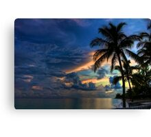 Sunset in the Bahamas Canvas Print