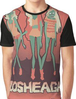 Music festivals zombies Graphic T-Shirt