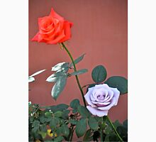 RED ROSE AND STERLING SILVER BLUE MOON ROSE Unisex T-Shirt
