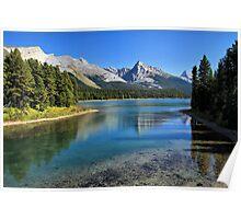 Maligne Lake, Jasper NP Poster