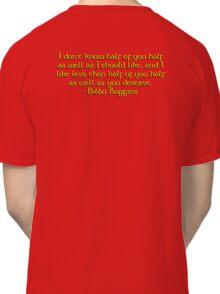 Bilbo's Speech Classic T-Shirt