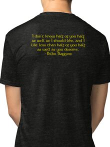 Bilbo's Speech Tri-blend T-Shirt
