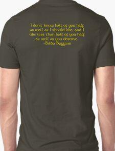 Bilbo's Speech T-Shirt