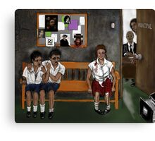 ROCKWELL ELEMENTARY ! Canvas Print