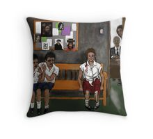 ROCKWELL ELEMENTARY ! Throw Pillow
