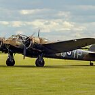 Bristol Blenheim IF L6739 G-BPIV taxying in by Colin Smedley