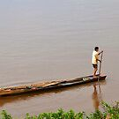 Life on MeKong River by Carl LaCasse