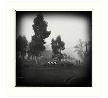 Fog. III Art Print