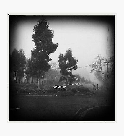 Fog. III Photographic Print