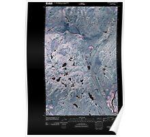 USGS Topo Map Washington State WA Riverside 20110503 TM Inverted Poster