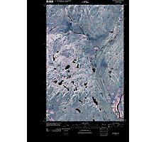 USGS Topo Map Washington State WA Riverside 20110503 TM Inverted Photographic Print