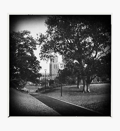 Silent Church. Photographic Print