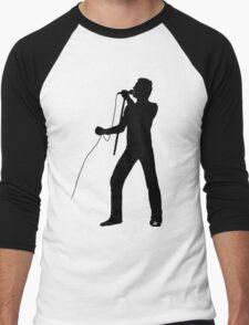 Freddie Silhouette  Men's Baseball ¾ T-Shirt