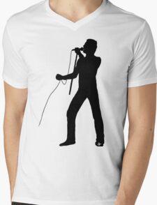 Freddie Silhouette  Mens V-Neck T-Shirt