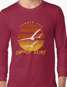 Summer Fun Shootin' Guns Long Sleeve T-Shirt