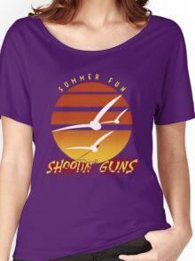 Summer Fun Shootin' Guns Women's Relaxed Fit T-Shirt