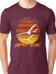 Summer Fun Shootin' Guns Unisex T-Shirt