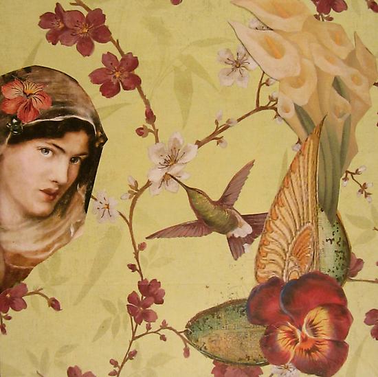 Hummingbird  by Kanchan Mahon