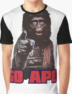 Planet of apes - GO APE Graphic T-Shirt