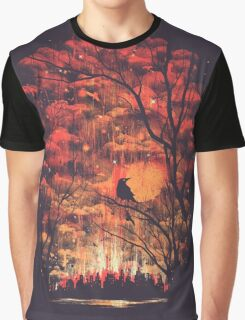Burning In The Skies Graphic T-Shirt