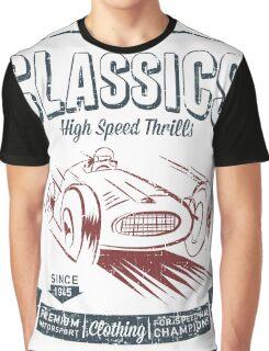 NEW Men's Vintage Classic Car T-shirt Graphic T-Shirt