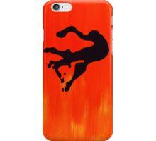 Orange and Figure iPhone Case/Skin