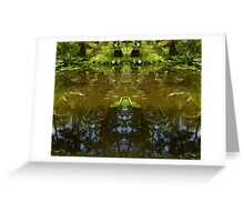Goddess of the Lily Pond Greeting Card