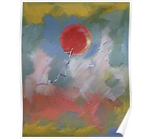 Goodbye Red Balloon Poster