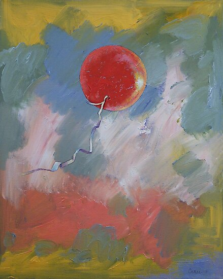Goodbye Red Balloon by Michael Creese