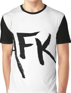 AFK - Black Graphic T-Shirt