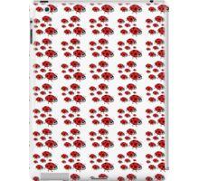 A cute black red dots lady bug pattern iPad Case/Skin