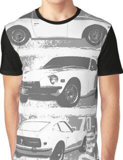NEW Men's Classic Sports Car T-shirt Graphic T-Shirt