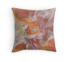 Oceanic Alchemy Throw Pillow