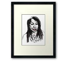 Thai Woman Framed Print