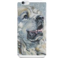Great Pyrenees  Fine Art Painting iPhone Case/Skin
