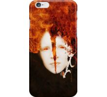 Flame Mask iPhone Case/Skin